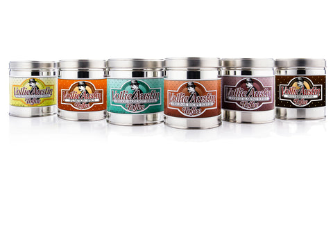 All Six Flavors - Six 5oz Tins