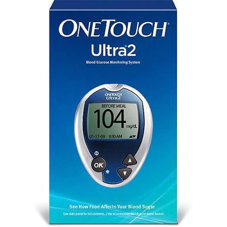 One Touch Ultra 2 Glucose Meter - Affordable OTC