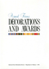 US Decorations & Awards  ***eBook, 37 pages***
