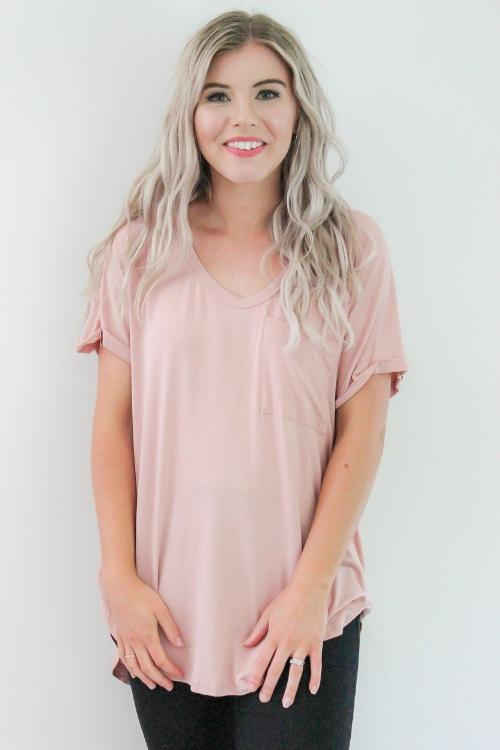 Basics Tee | French Kiss Boutique NZ