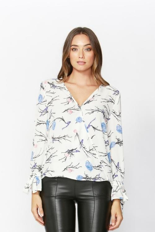 Sass Blouse | French Kiss Boutique NZ