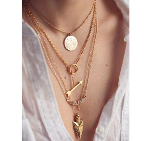 Adele necklace - Gold