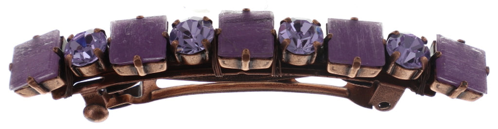 hairclip Cleo lila antique copper