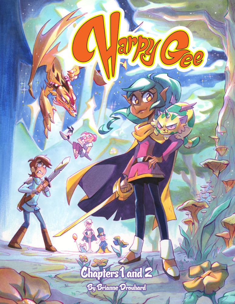 Harpy Gee Volume 1-2 (Combined Edition) from Harpy Gee - Webcomic Merchandise