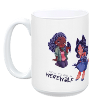 Everyone is Tiny! Mug from How To Be a Werewolf - Webcomic Merchandise