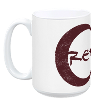 Red Moon Cafe Mug from How To Be a Werewolf - Webcomic Merchandise