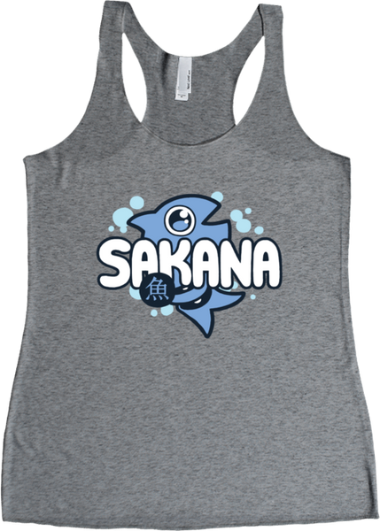 SAKANA: Logo Tank from Sakana - Webcomic Merchandise