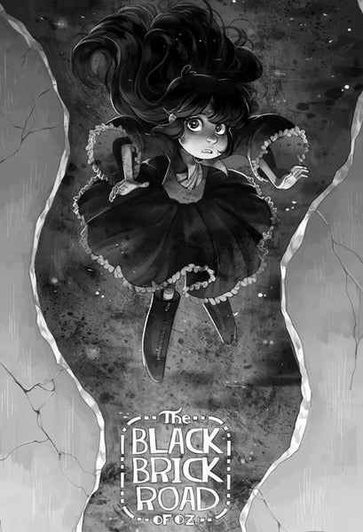 Black Brick Road of Oz - Cyclone Print from Black Brick Road of Oz - Webcomic Merchandise