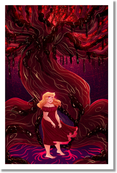 Alice's Tree Print from Alice and the Nightmare - Webcomic Merchandise