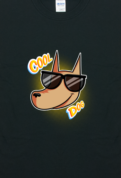 Cool Dog T-shirt from A Ghost Story - Webcomic Merchandise