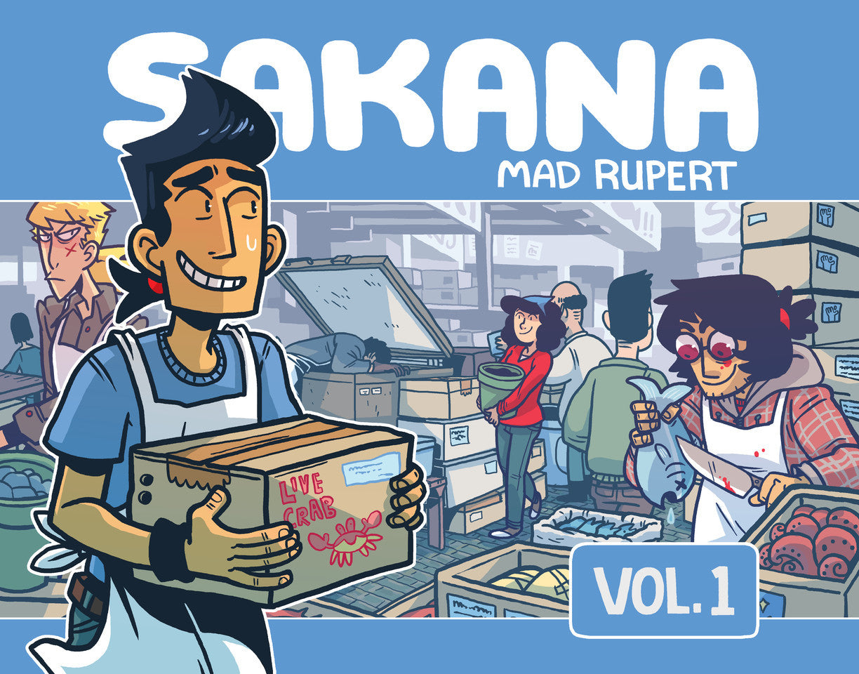 Sakana Volume 1 from Sakana - Webcomic Merchandise