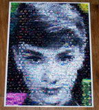Amazing Audrey Hepburn Beautiful Flowers Montage w/COA , Football-NFL - n/a, Final Score Products  - 1