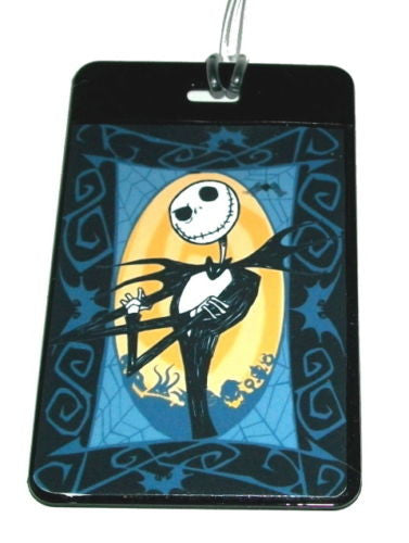 Jack Skellington Nightmare Before Christmas Luggage Tag , Other - n/a, Final Score Products  - 1
