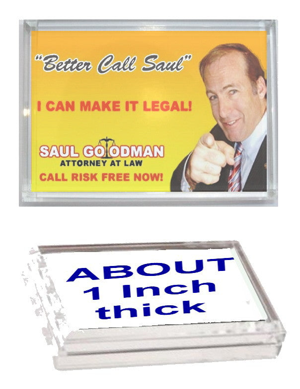 Better Call Saul Goodman Breaking Bad Executive Display Desk Top Paperweight