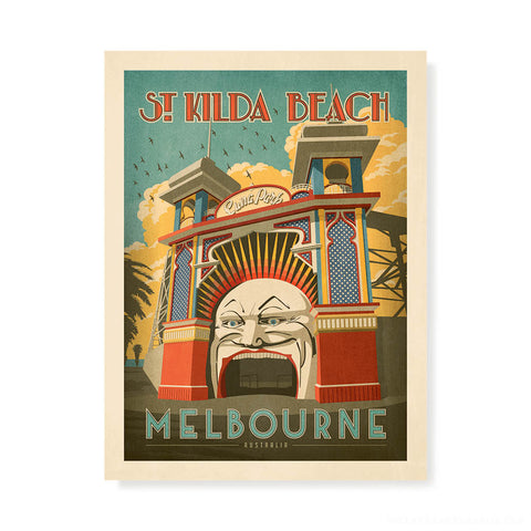 The Nylex Sign, Melbourne 11 Degrees Print