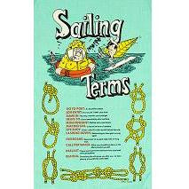 "Galley Cloth ""Sailing Terms"""