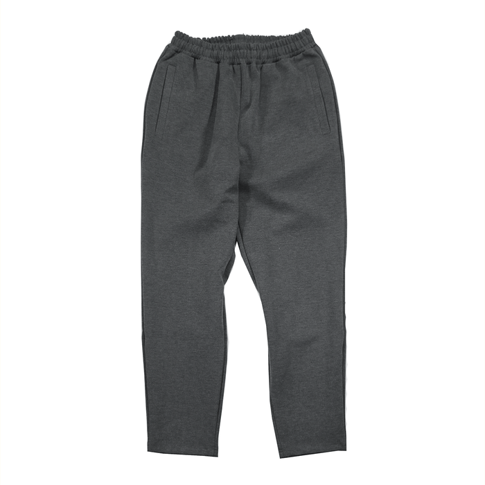 Tech Cut-Off Trouser - Heather Charcoal