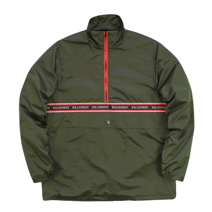 Techrun Pullover - Olive