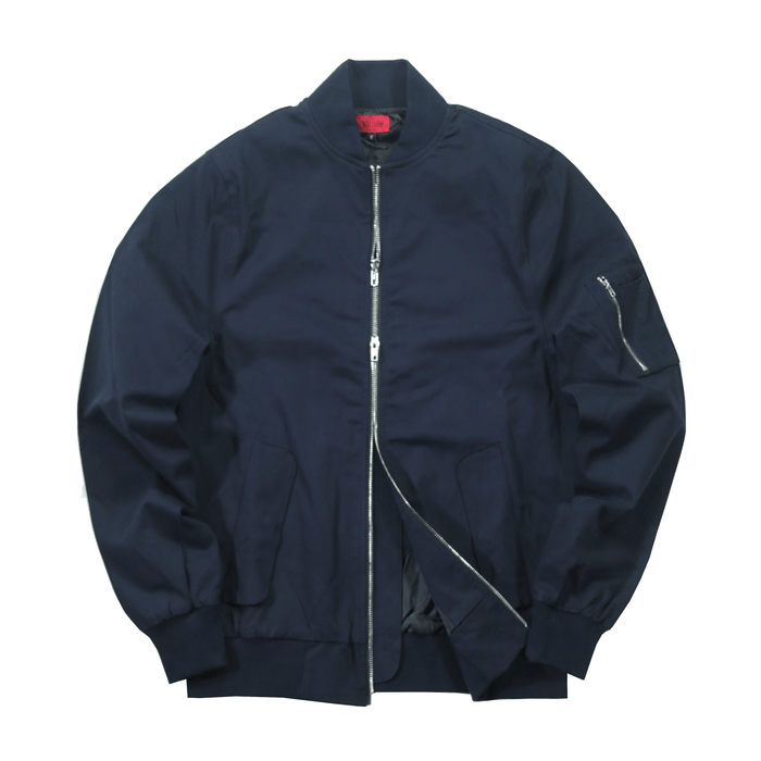 Lightweight MA-1 Bomber Jacket - Navy (06.27.19 Release)