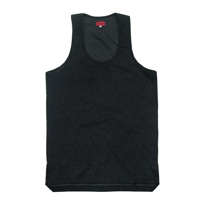 Speckle Tank Top - Black