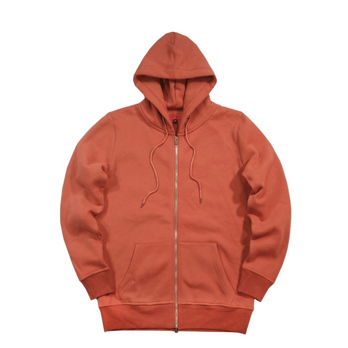 SI Full Zip Hoodie - Copper Rust