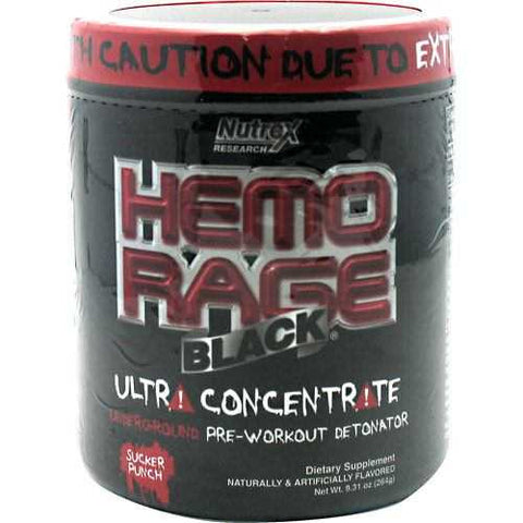 Nutrex Hemo-Rage Black Ultra-Concentrate