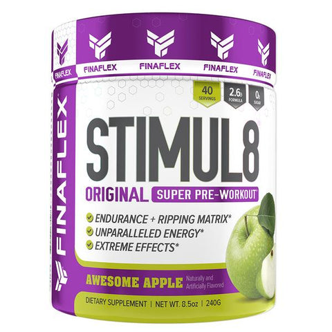 Stimul8 Pre Workout with Free Gym Towel