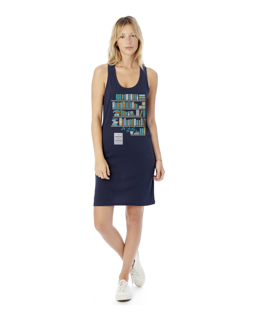 Education Is Freedom Arizona Women's Cotton Modal Jersey Tank Dress