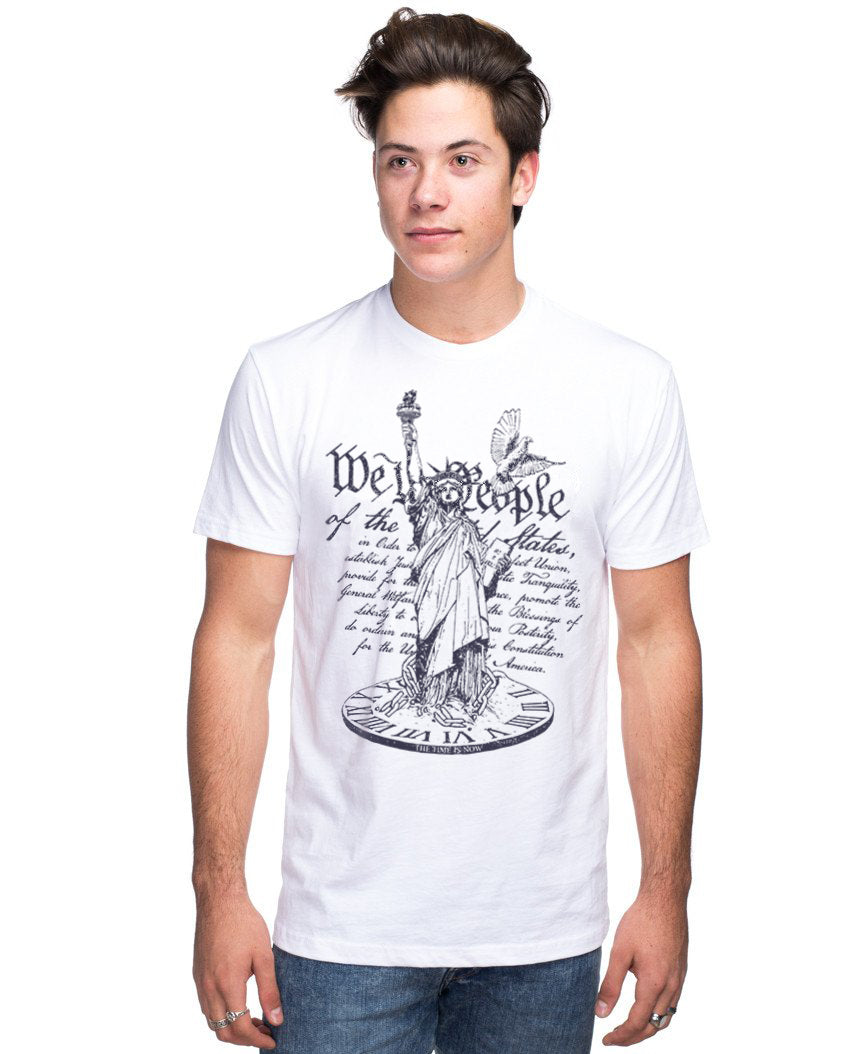 We The People The Time Is Now Men's Short Sleeve Tee