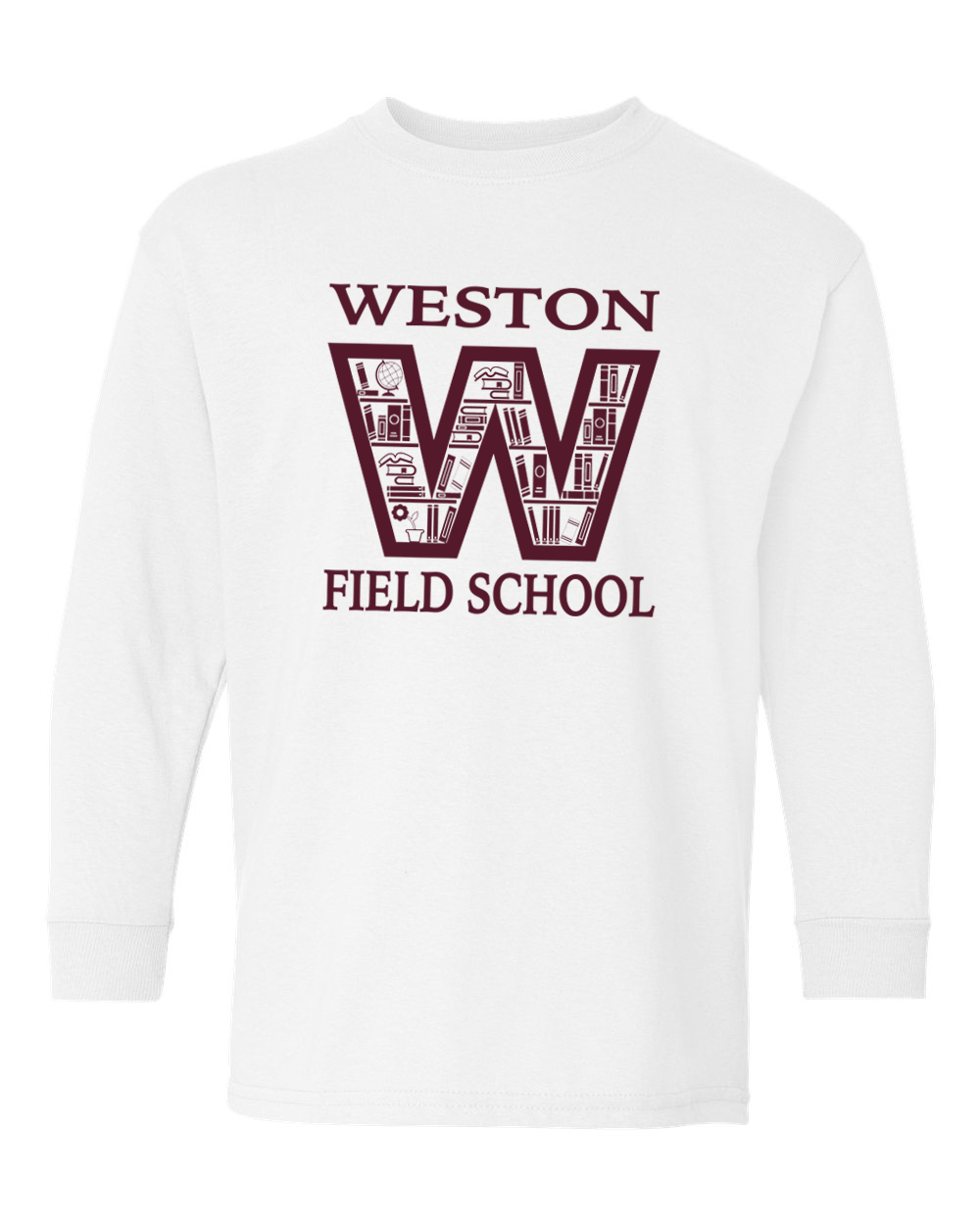Weston Field School Youth & Adult Long Sleeve Tee