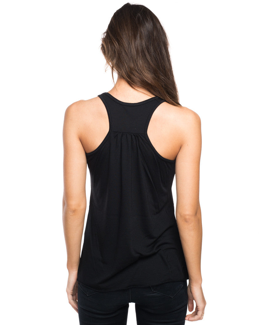 Barn Animals Flowy Racerback Tank