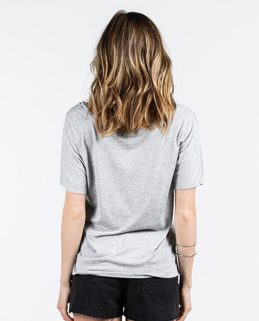 T-shirt - Never Give Up Slouchy Tee
