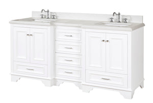 Nantucket 72-inch (Quartz/White)