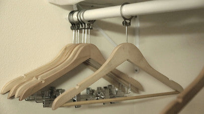 Anti Theft Hotel Hangers - inflatable hanger