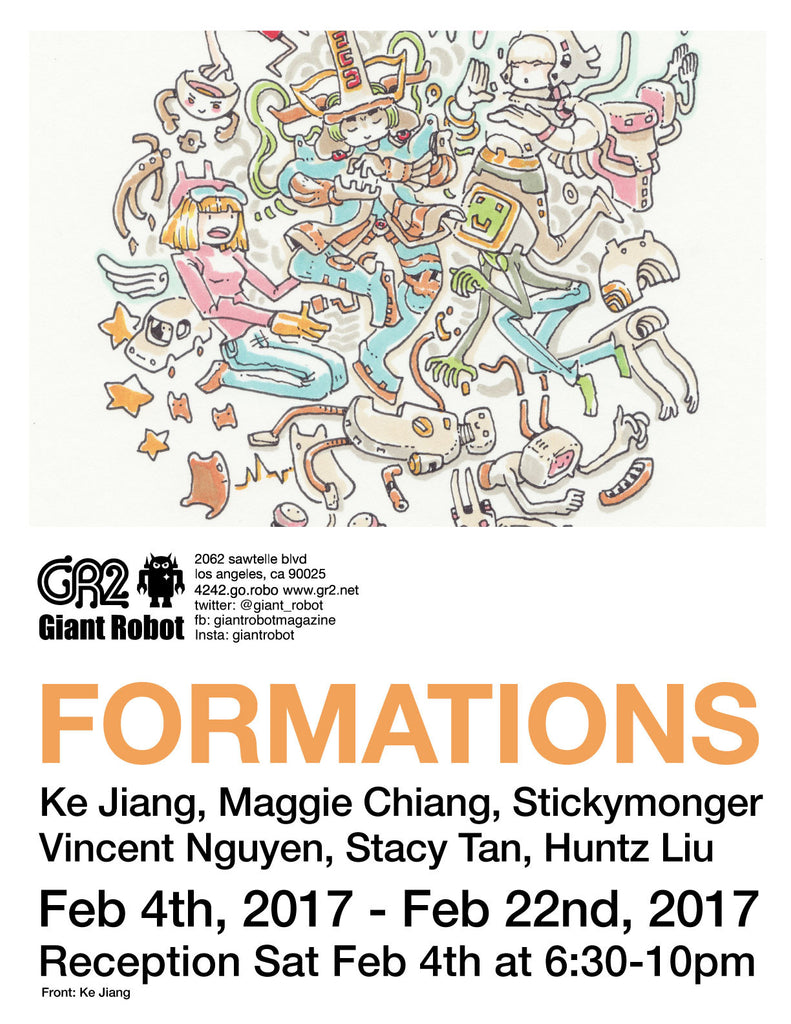Formations at GR2 Begins Sat Feb 4th