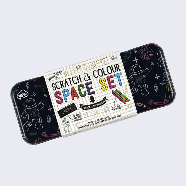 Scratch and Colour Space Set