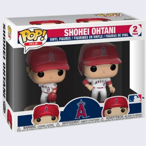 Funko - MLB Angels: Shohei Ohtani Vinyl Pop! Figures - 2 Pack