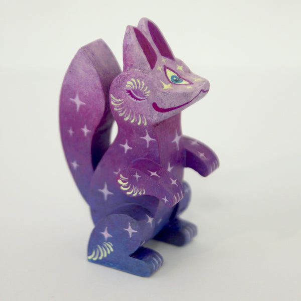 Candie Bolton - Sleepy Fortune Fox - Purple - #35