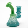 Vulcan Glass - Aqua Green Mini Rig
