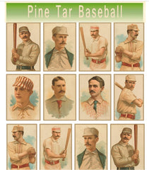 Pine Tar Baseball Dual Team Scoring Booklet -2 Pack
