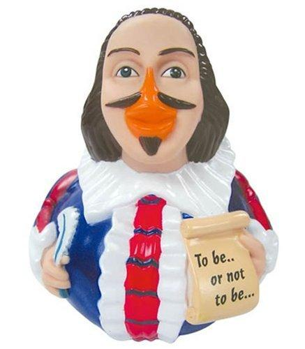Celebriducks William Shakespeare Rubber Duck