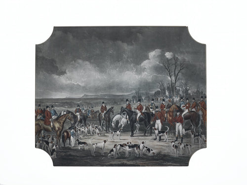Placemat | British Hunt, set of 2