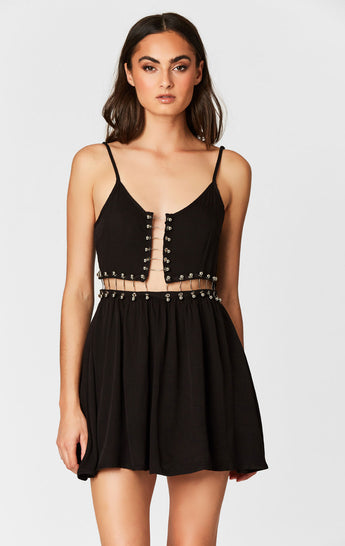 MILLAU BARBELL TRIM DRESS