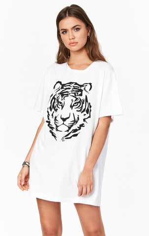 TIGER OVERSIZED GRAPHIC TEE