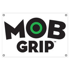 Mob 2008 Logo Transpaque Banner  - 24in x 36in - White/Black