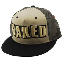 Baker Baked Men's Trucker Hat - Beige/Black
