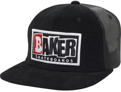 Baker Keep It Simple Corduroy Men's Trucker Hat - Black
