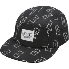 Baker Interstellar 5-Panel Men's Hat - Black