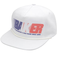 Baker United Snapback Men's Hat - White