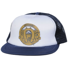 Anti-Hero Dumping Luck Trucker Men's Hat - White/Blue